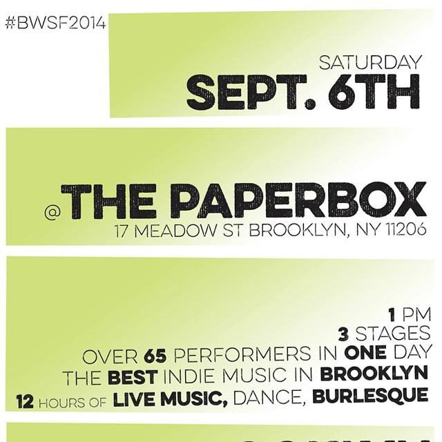 Saturday, September 6th, 2014, at 7:45pm – SHARP!